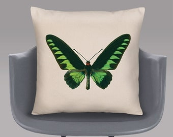 Birdwing Butterfly Cushion Cover