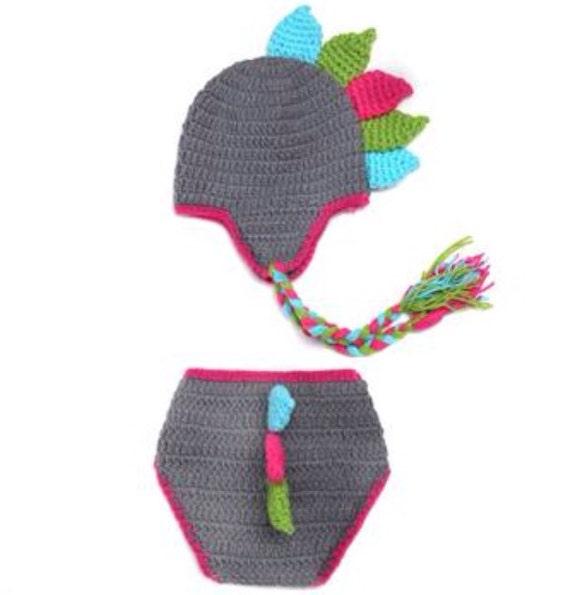 Crochet Dinosaur Hat And Diaper Cover Pattern : Baby Crochet Dino Crochet Diaper Cover Baby Crochet Crochet