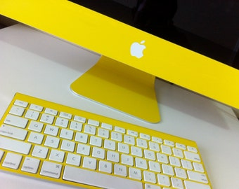 Apple iMac Yellow  21.5 or 27 inch Protective Skin