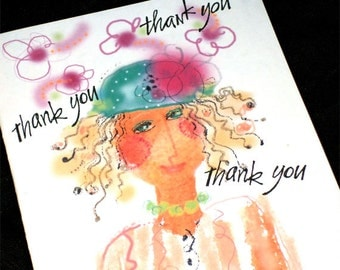Thank you thank you card...2.50