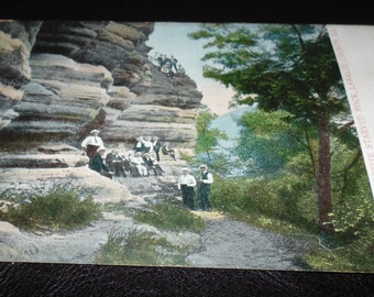 POSTCARD Early 1900s Devils Nose Starved Rock Illinois