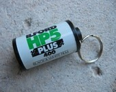 Film Canister Keychain: Ilford HP5 Plus