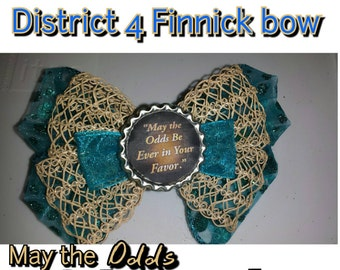 District 4 Finnick bow