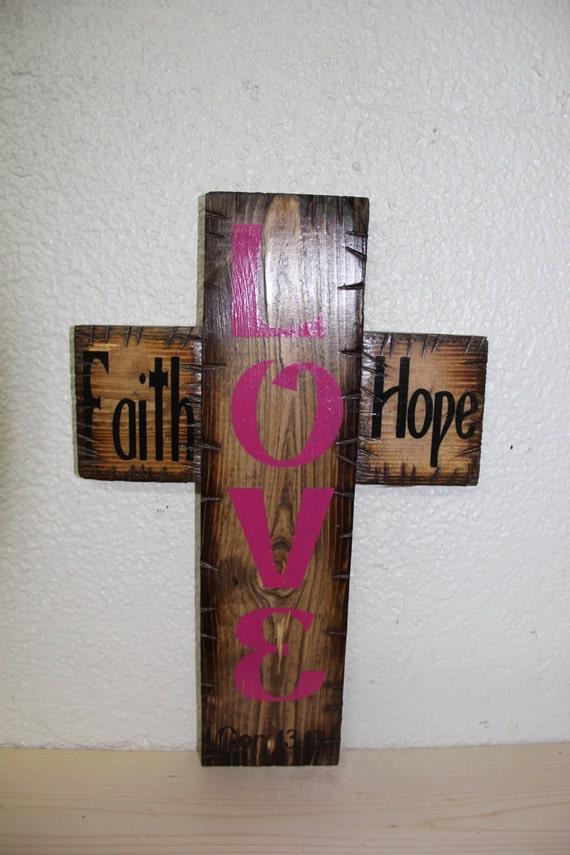 Faith Hope Love Cross (provincial)