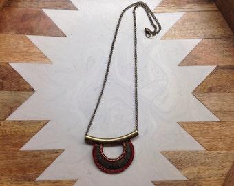 Chunky bohemian necklace