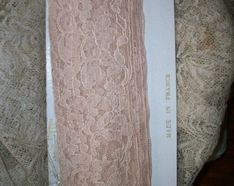 2 yds. of Antique lace by the yard alencon lace french origin 1920