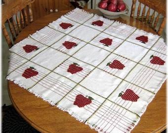 Apple Swedish weave digital pattern