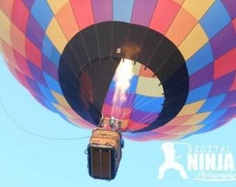 Plano Balloon Festival '12 - Fire Burst