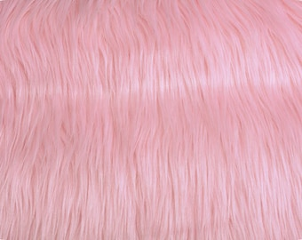 15x29inches- Mongolian Pink Faux Fur Backdrop Photography Prop - Photo Prop- Newborn Nest