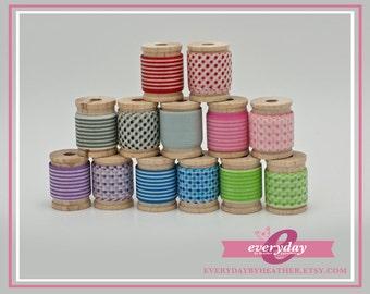 Mini Washi Tape Set - Stripes & Dots
