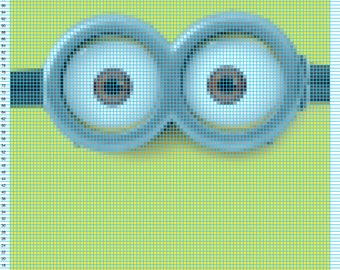 Minion Crochet Pattern 96w X 120h