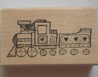 Train Rubber Stamp - 171M01