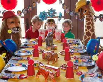 Circus Carnival Birthday Party - Complete Package