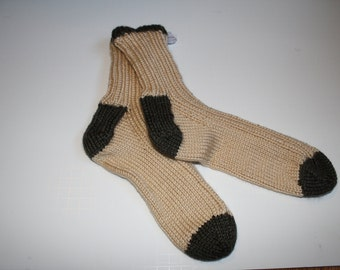 Hand knitted Adult socks