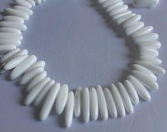 White Onyx Beads