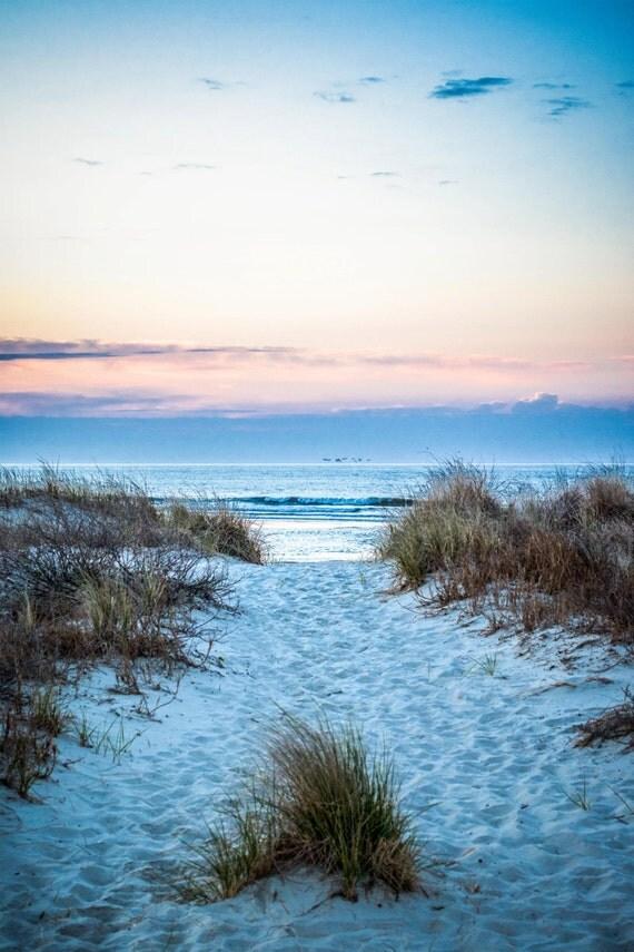 Sunrise Beach Path On Pawleys Island South Carolina Instant