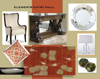Elements Entry Wall