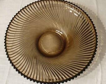 Large round dish VINTAGE