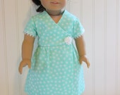 "American Girl Doll Clothes / Speacil Occasion 18"" Doll Dress"