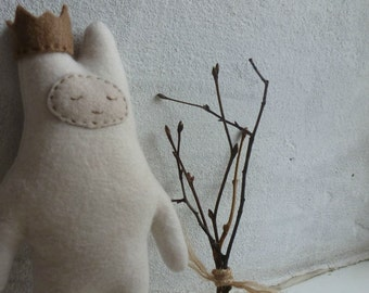 Uyuti -weirdo, soft art toy