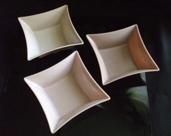 Mid Century Modern Precidio Objects Melamine bowls set of 3