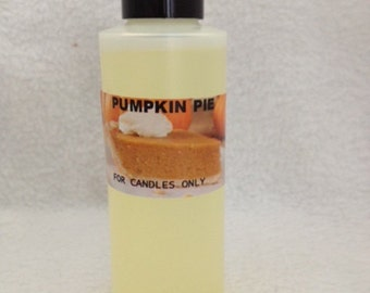 Pumpkin Pie fragrance oil for candles only ..........Scent