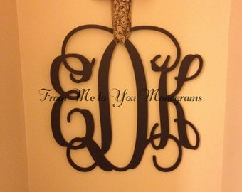 22 Inch Wooden wall Monograms, Home Decor, Office Decor, Weddings