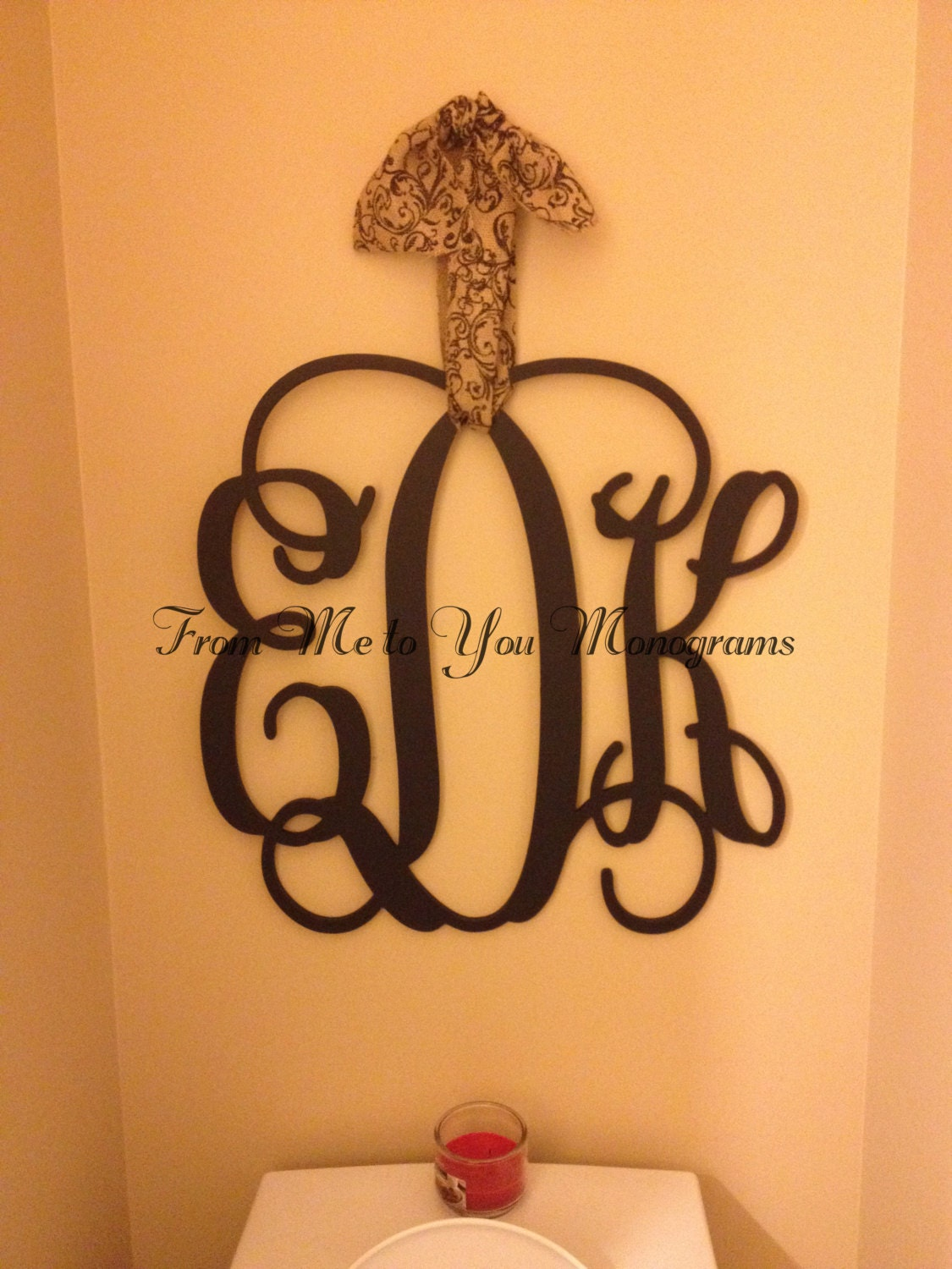 18 Inch Wooden Wall Monograms Home Decor Office Decor