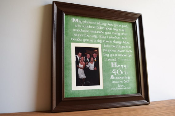 Irish Wedding Gift, Irish Wedding Anniversary, Irish Anniversary ...