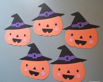 Pumpkin Halloween die cuts