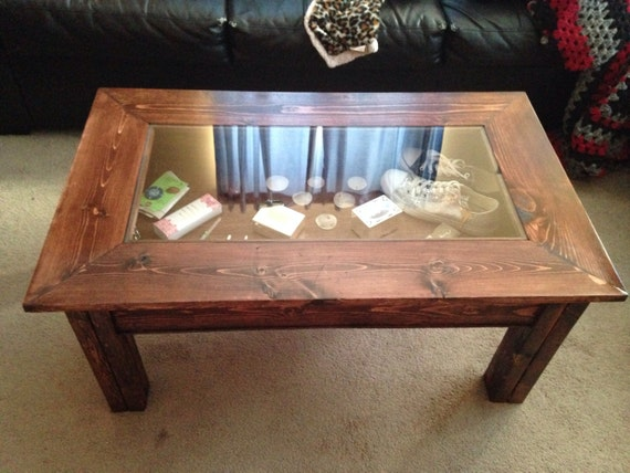 Items Similar To Custom Shadow Box Coffee Table On Etsy