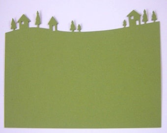 Country Landscape Die Cuts