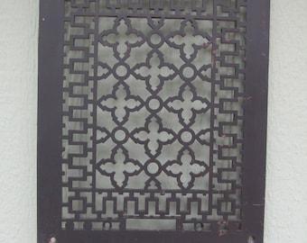 Vintage Furnace Grate