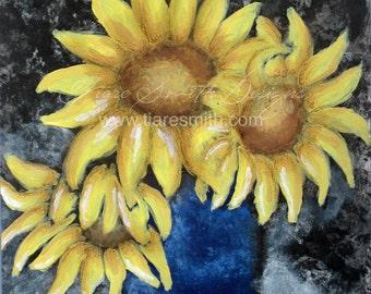 Sunflowers 8x10 Print