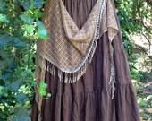 Gypsy Skirt Lagenlook Skirt Hippie Skirt Shabby Chic Skirt