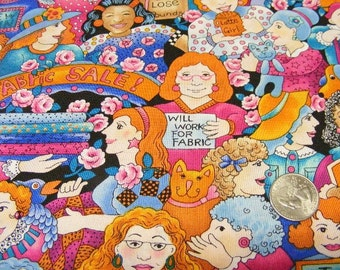 Quilters World fabric benartex fabrics by the 1/2 yard~whimsy~cotton