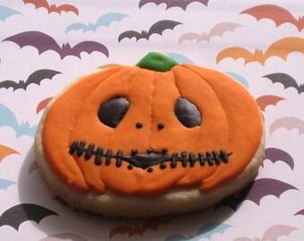 Jack Skellington Pumpkin Halloween Fall Cookie Pumpkin Patch Favor