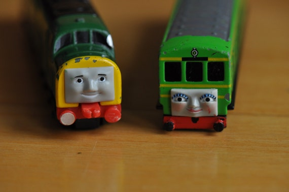 Vintage Thomas Ertl Diesel D261 And Daisy From Thomas The Tank