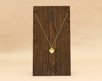 4 Necklace Wooden Necklace Display Board / Necklace Holder / Jewelry Display Necklace Stand Trade Show Craft Show Store Display / NB003