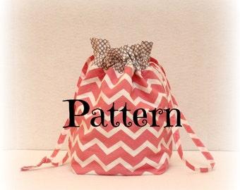 Pattern - Cinch Sack - Drawstring Bag