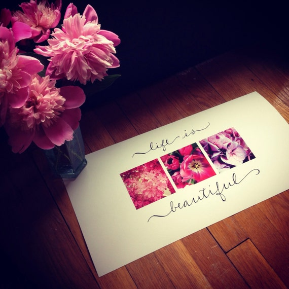 Life is Beautiful: Photography Wall Art