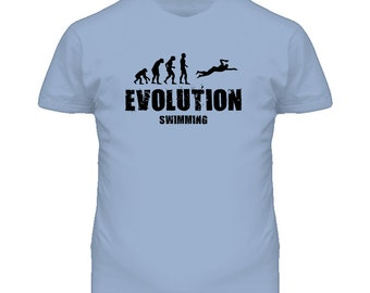 Evolution Swimming T Shirt