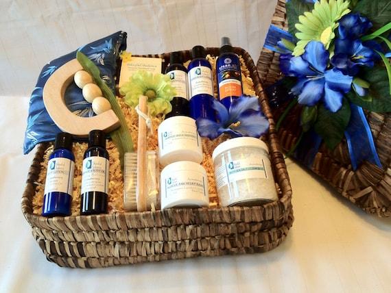 Spa gift basket for men for Mens gift exchange idea