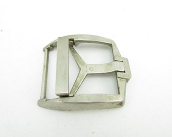 Vintage brass belt buckle 70's