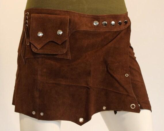 leather belt skirt belt skirt leather clothes