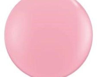 "36 inch giant Pink Balloon - 36"" Latex balloon"