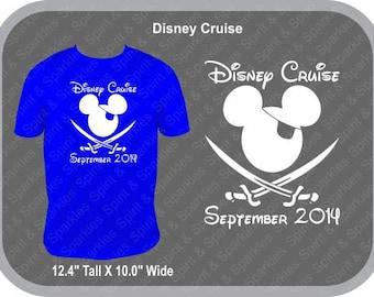 Disney Cruise Mickey Pirate T-Shirt