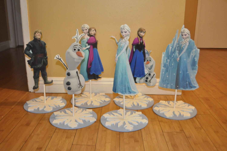 Frozen Movie Centerpieces Disney's Frozen Movie