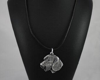 Teckel, Dachshund (wirehaired), dog necklace, limited edition, ArtDog