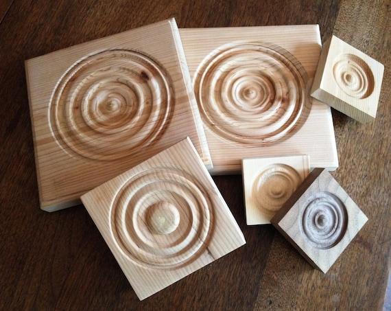 Custom Hand Made Corner Blocks Rosette Bullseye Trim Wooden